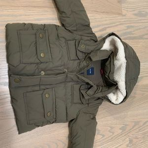 Baby boy snow jacket